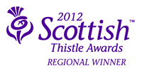 Finalist in upcoming 2012 Thistle Awards